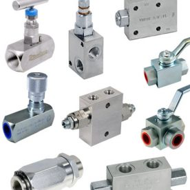 Hydraulic Valves & Flow Regulator