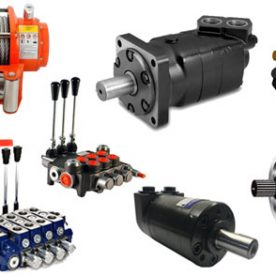 Hydraulic Motors, Winches, Control Valves & Parts